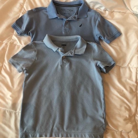 Nautica Other - Bundle of Boys light blue shirts 5/6